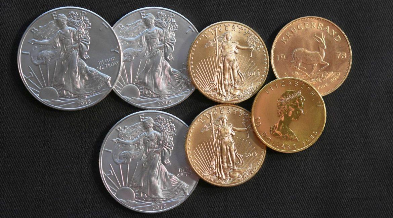 pièces or et argent