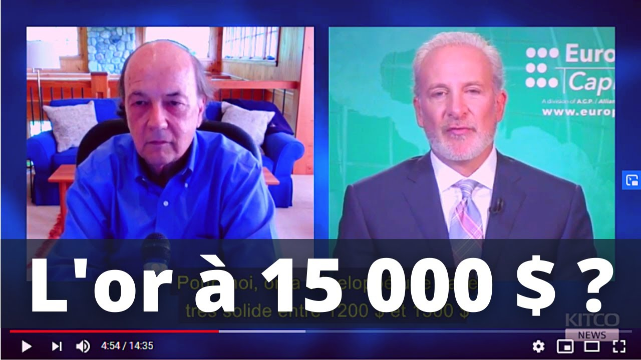L'or à 15000 $ - Jim Rickards Et Peter Schiff