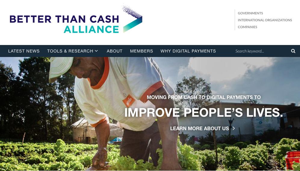 Better than Cash Alliance veut supprimer l'argent liquide au profit des moyens de paiement électroniques