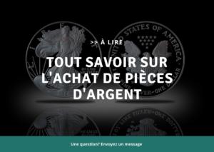 Acheter des pièces d'argent en Belgique