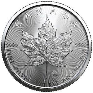 Maple Leaf 1 once - acheter des pièces d'argent