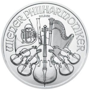 Philharmonique 1 once - acheter des pièces d'argent